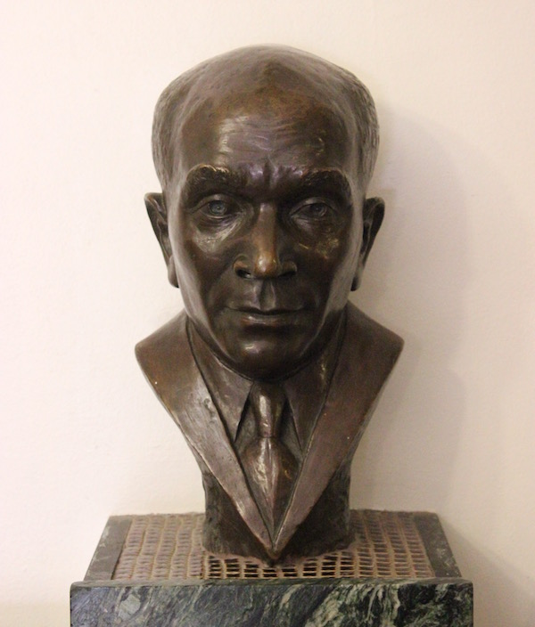 Bust of Charles A Hill
